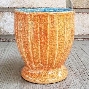 Vintage Dining - Vintage Orange & Blue Mug AS-IS
